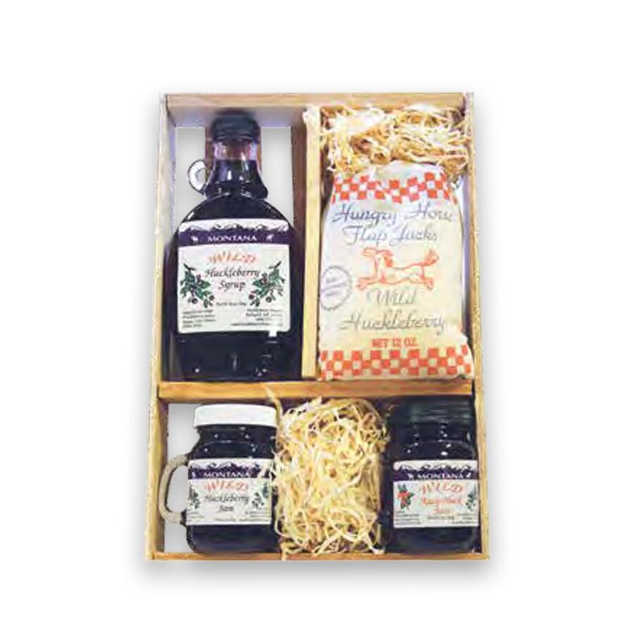 10 oz. Syrup, FlapJack, 2-5 oz. Jam Gift Box