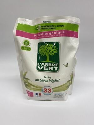 Lessive liquide L'ARBRE VERT 1.5L - BIO
