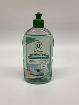 Liquide vaisselle parfum menthe et basilic U 500ML - BIO