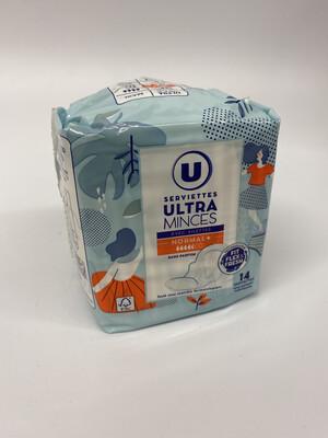 SERV.ULTRA MINCE NORMAL+ U X14