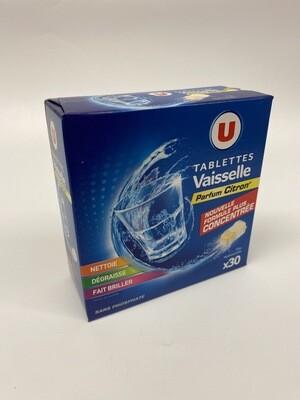 Tablette vaisselle parfum citron U X30