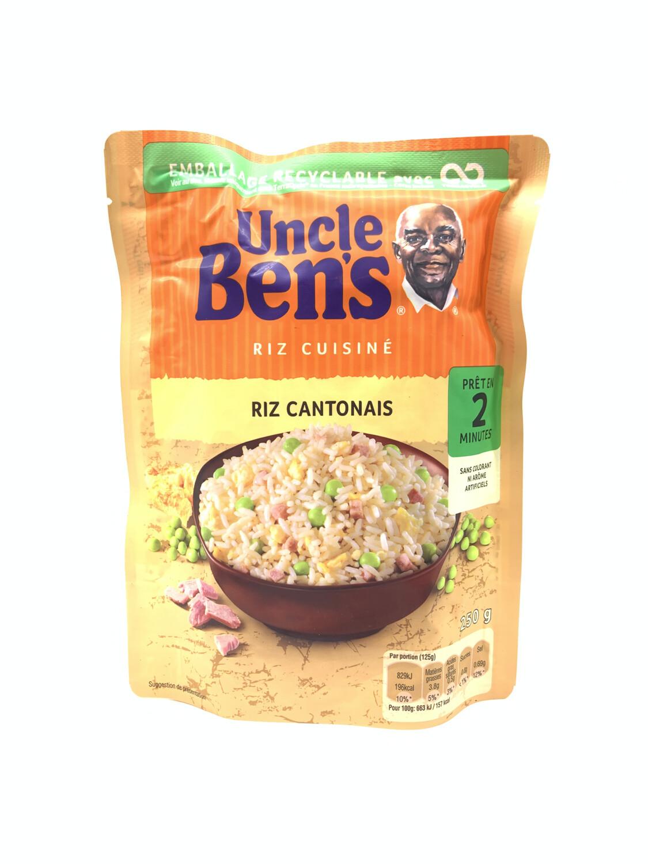 RIZ CANTONAIS UNCLE BEN'S 250g