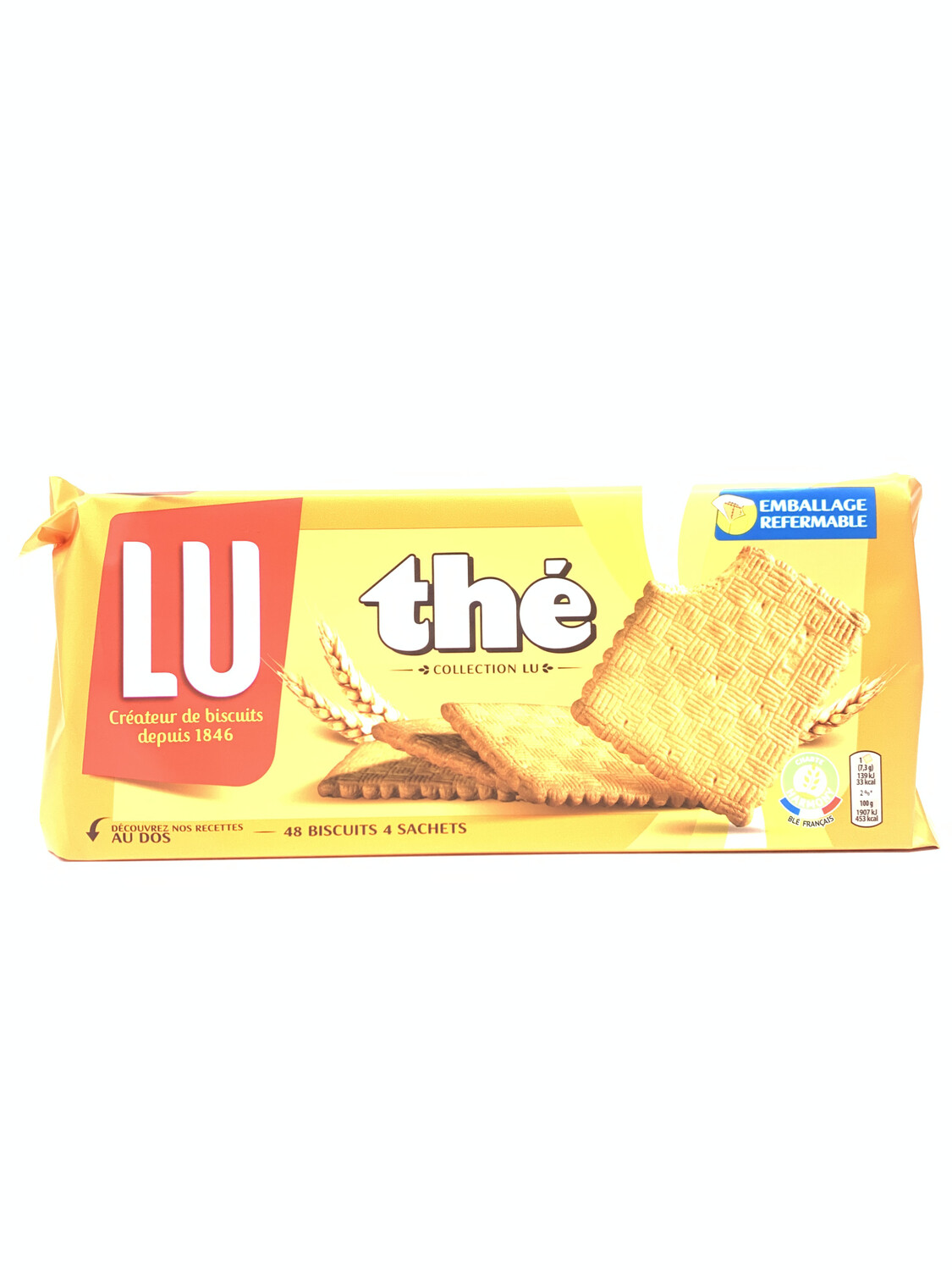 THÉ collection LU  (48 biscuit 4 sachet )