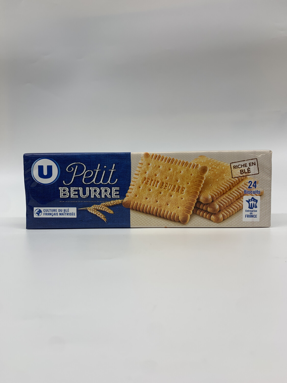 Petit beurre U 24 biscuit 200g