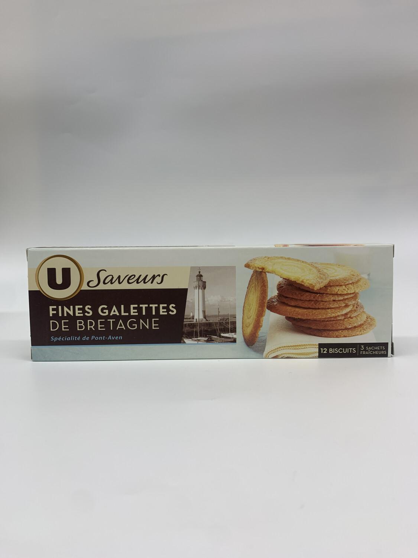 FINÊS GALETTE DE BRETAGNE U Saveurs 12 Biscuit
