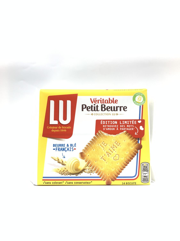 Véritable Petit Beurre 24 biscuit LU 200g