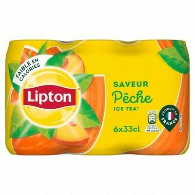 LIPTON ICE TEA PECHE BTE6X33CL