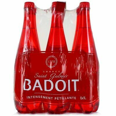 BADOIT ROUGE PACK PET 6X1L