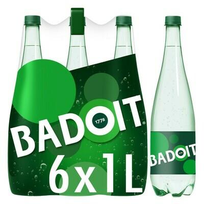 BADOIT VERTE NATURE PET 6X1L