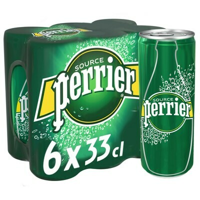 PERRIER PACK BTE 6X33CL