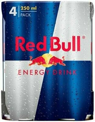 BOISSON ENERGIS.RED BULL4X25CL
