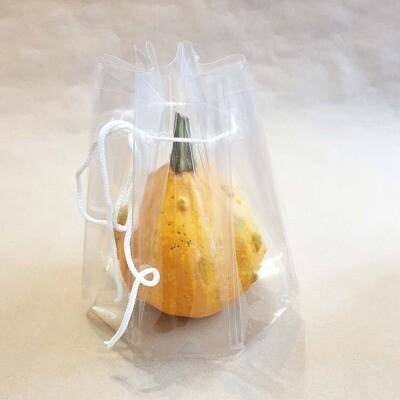 Упаковка пластиковая для больших свечей - 15х12 см