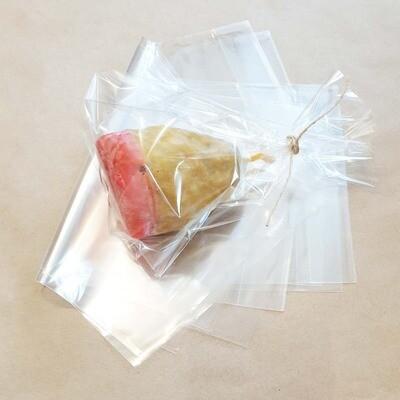 Пакет прозрачный с дном 15х22х3 см для упаковки- 10 штук