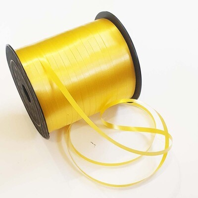 Лента полипропилен желтая 0,5 см х 220 м