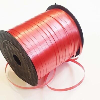 Лента полипропилен красная 0,5 см х 220 м