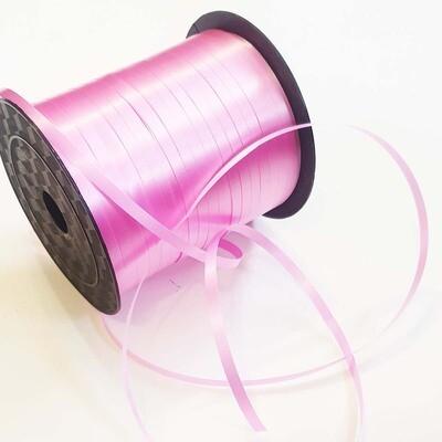 Лента полипропилен розовая 0,5 см х 220 м
