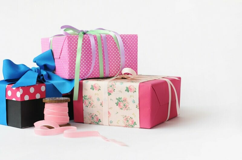 Упаковка заказа для подарка