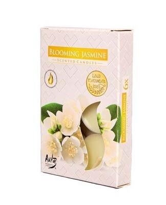 Свечи ароматические в гильзах - Жасмин 6 штук