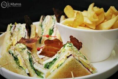 Le Club sandwich - Poulet