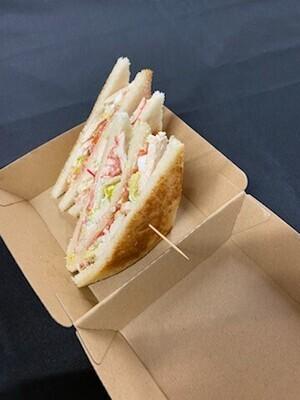 Le Club sandwich - Saumon