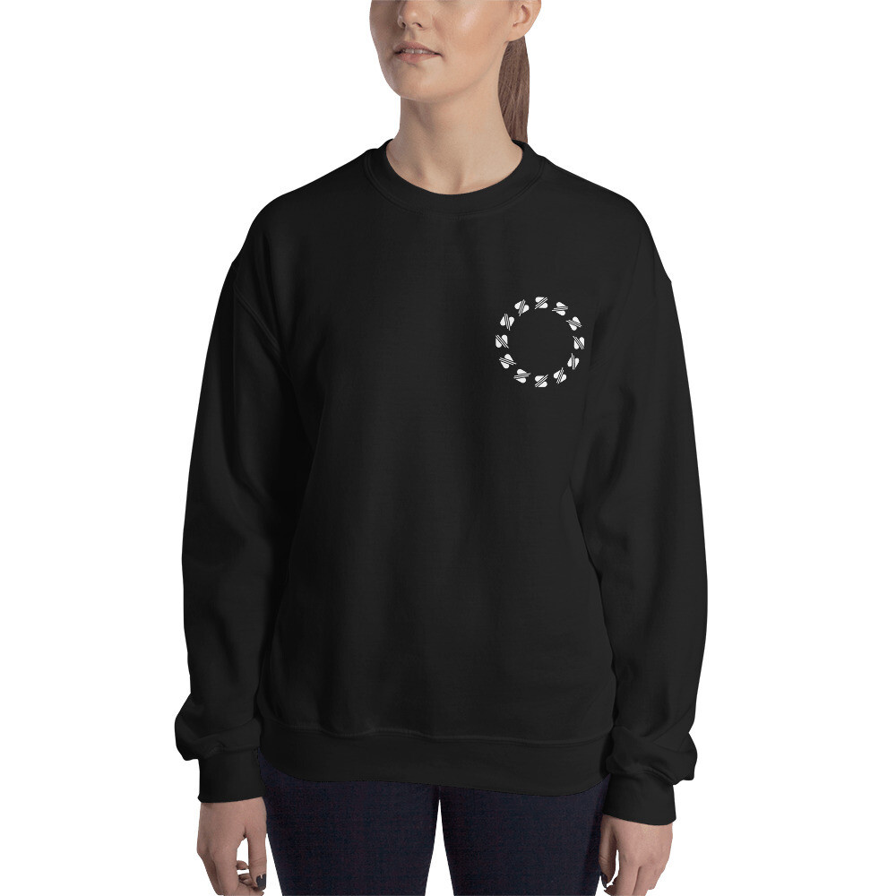 lay down your crown - girl sweatshirt