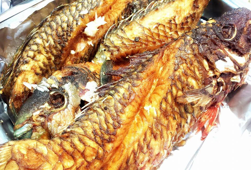 Fried Parrot fish (whole Medium)