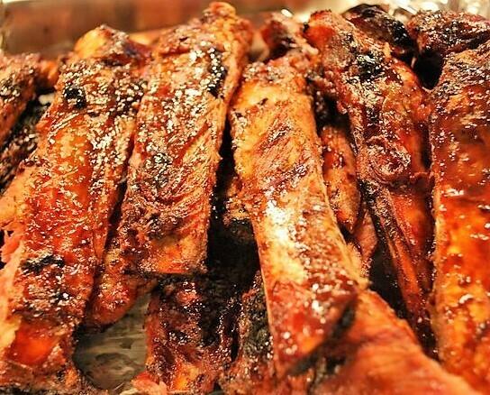 Slab BBQ Pork Spareribs (Catering)