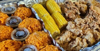 IC's Fried Chicken familia Platter for 4