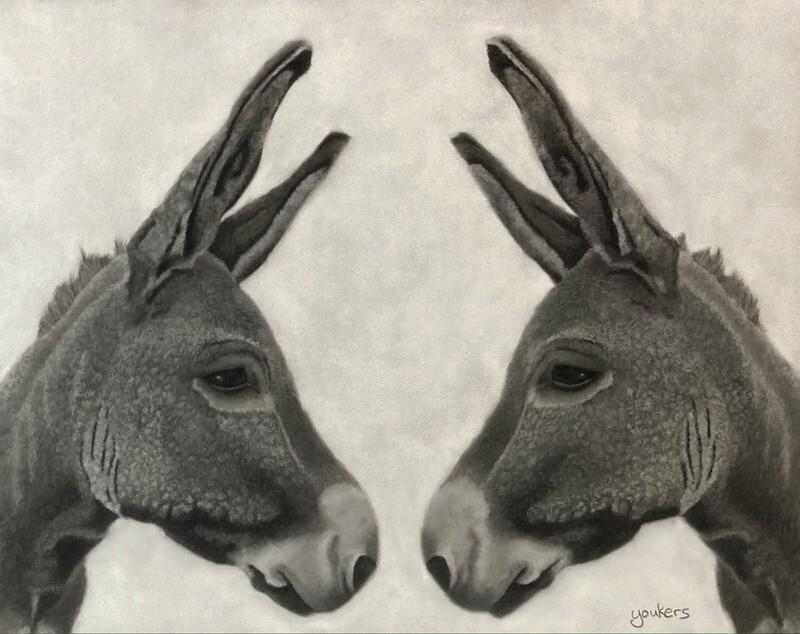 Dos Hombres - Giclee Fine Art Print