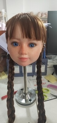 Silicone toddler head + TPE body