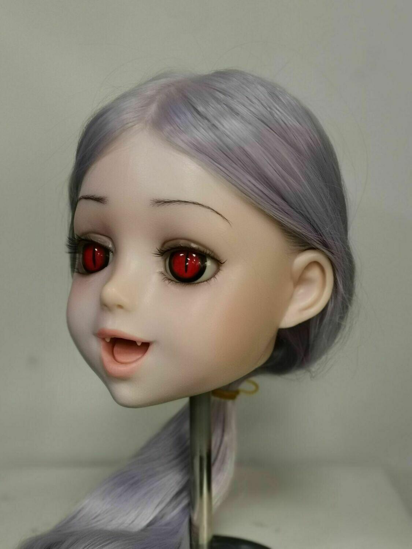 Vampire silicone head