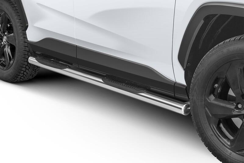 Küljerauad plastastmetega, Toyota Rav4 2015 -