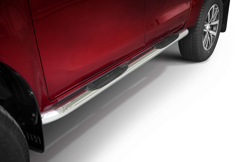 Küljerauad, Ø 70mm, plastastmetega, Toyota Hilux 2015 - 2018