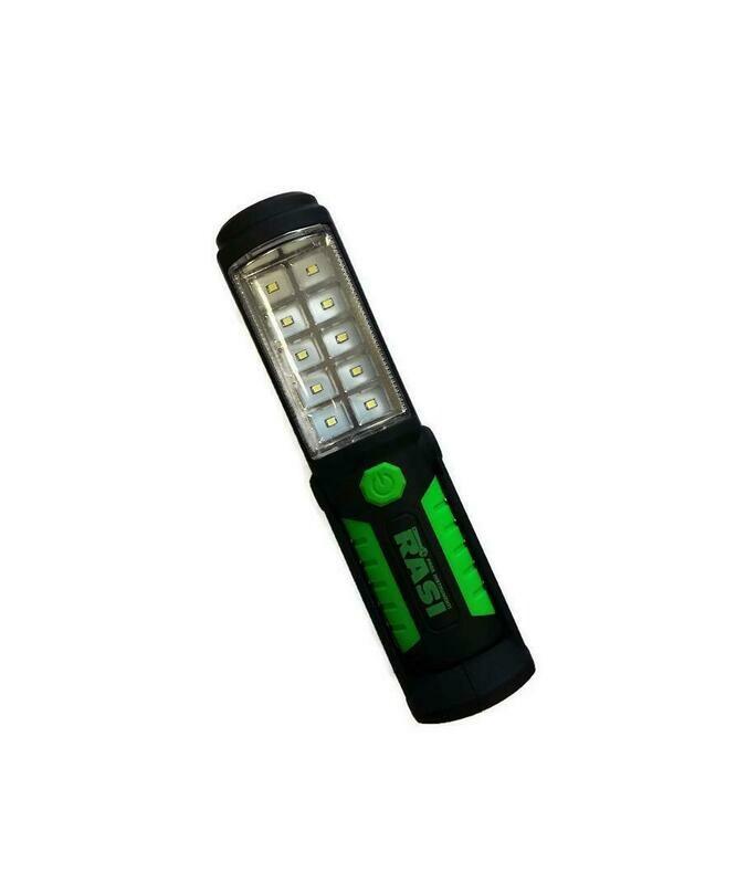 LED перезаряжаемый фонарик 10+5