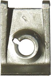 U-klamber plekikruvidele Ø 6,35mm
