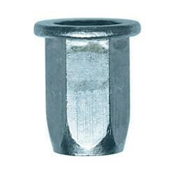Neetmutter, teras M6-1.00 0,5 → 3 mm