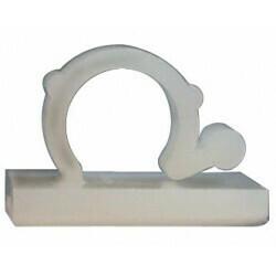 Kleepuv klamber Ø 9 mm, juhtmestiku kinnitamine