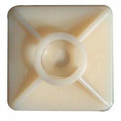 Kleepuv klamber 27x27 mm, plastkaablite kinnitamine