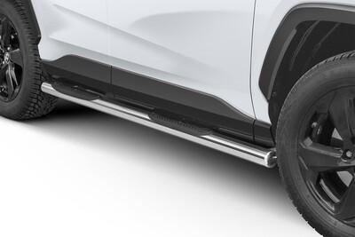 Küljerauad plastastmetega, Toyota Rav4 2018 -