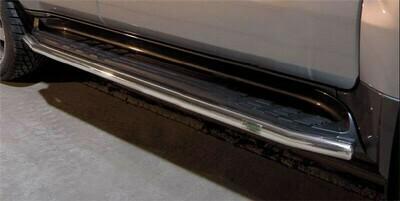 Боковые трубы, Toyota Land Cruiser V8 2007 - 2012