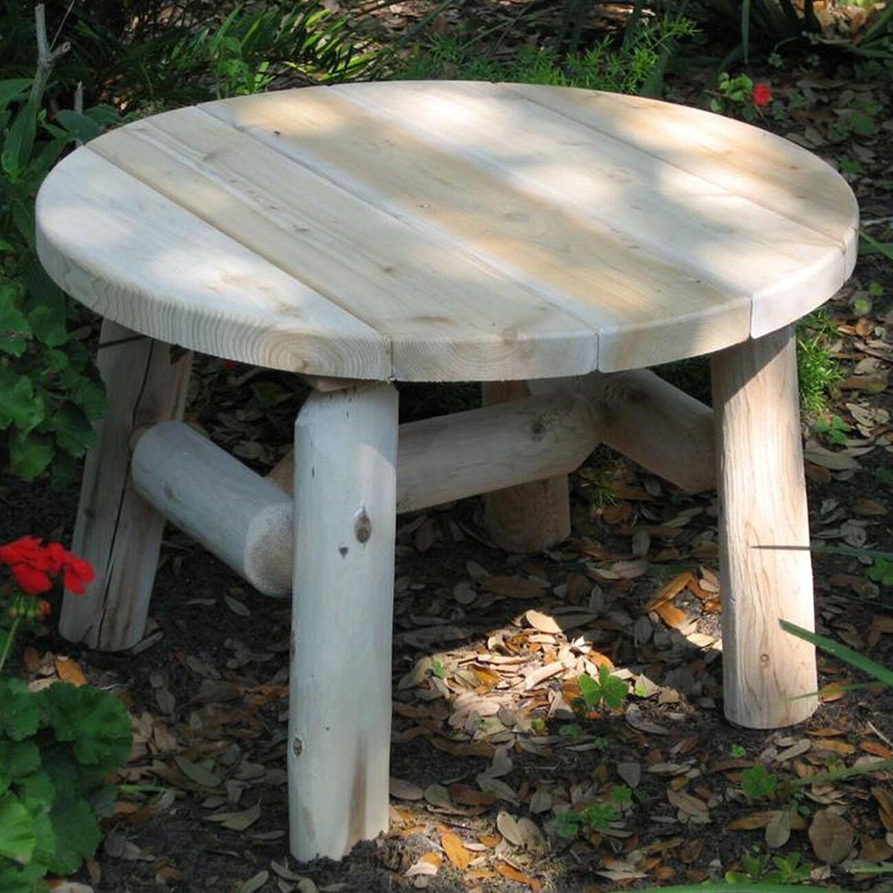 "CF1227 (Cedar Log Coffee Table 27"")"