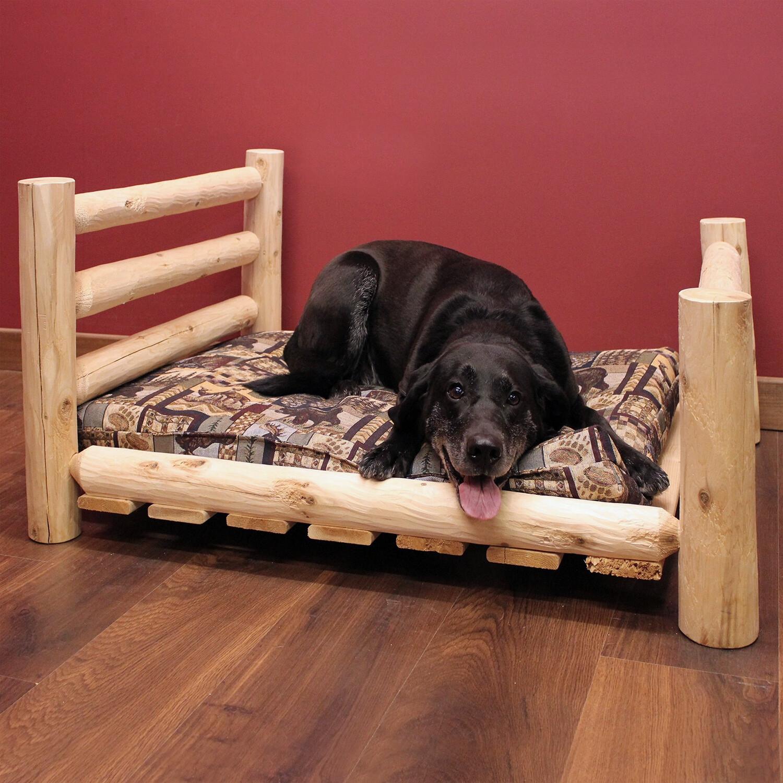 """PH2436 (Medium Pet Bed, Log, 24"""" x 36"""")"""