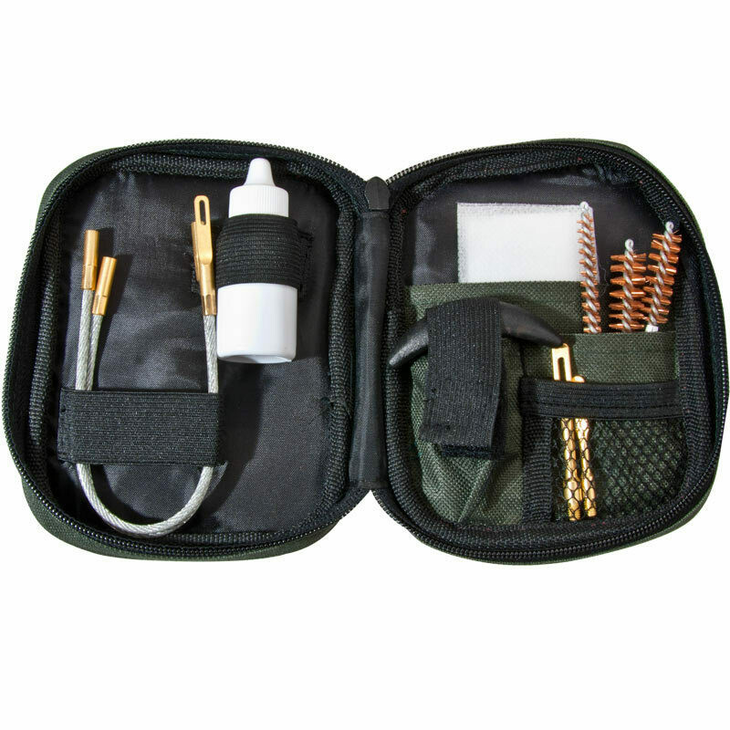 AW11964 Pistol Cleaning Kit with Flex Rod Pouch