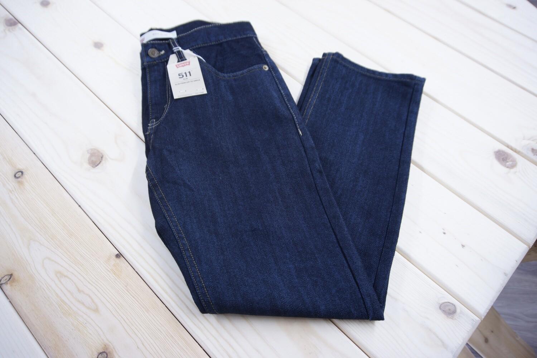 Levi 511 Slim Fit Jeans, 28x28 - Size 16 Regular