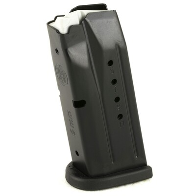 Smith and Wesson M&P Compact, 9mm Caliber Magazine, 12 Rounds