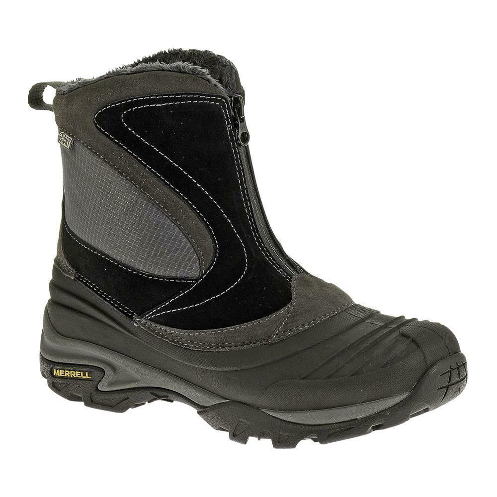 Women's Merrell Zipper Front Snowbound 200 gram Waterproof Snow/Hiking Boot