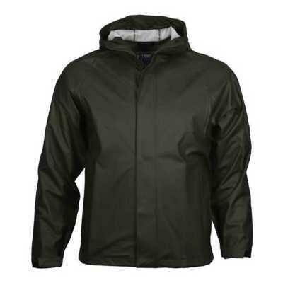 Storm Hide Down Pour Rain Jacket, Black