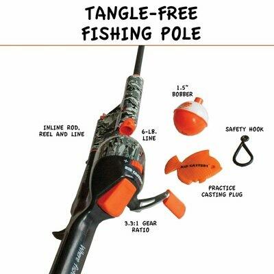 Kid Casters Tanglefree Fishing Combo 5534-0129