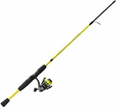 Mr Crappie Slab Shaker Spinning Combo, light action, 5.5'