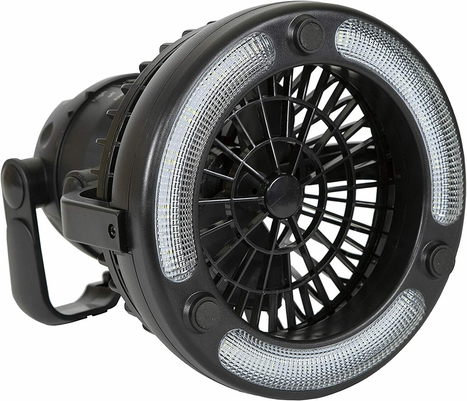 Stansport 450 Camping Lantern with Fan, 18 LED